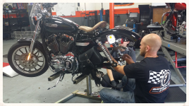 Motorcycle Mechanic repair shop